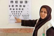 طرح غربالگری تنبلی چشم برای کودکان سقز انجام شد