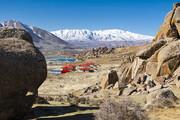 تصویر   سنگهای افسانهای روستای «خورنج» پیرانشهر