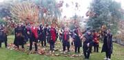 تصاویر | اندوهت را به برگهای پاییز بسپار