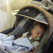نکته بهداشتی: سفر با کودک با هواپیما