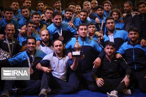 کشتی آزاد جام باشگاههای جهان در بجنورد