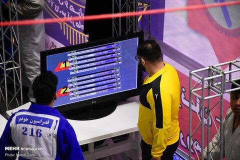 مسابقات کشوری جودو بزرگسالان در ارومیه