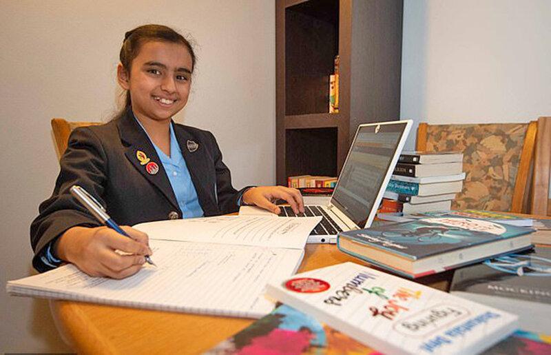 فريا دختر نابغه هندي