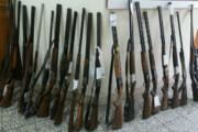 ۱۸ قبضه اسلحه دولول در صومعهسرا کشف و ضبط شد