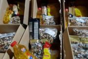 توزیع ۲۰۰۰ بسته آجیل بین محرومان شیراز