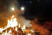 گشت شبانه کنترل آلودگی هوا در قرچک | ۳۵ سایت پسماندسوزی شبانه خاموش شد
