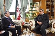 جزئیات دیدار سفیر غیرمقیم سنگاپور با شهردار تهران