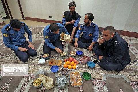 شب یلدای آتشنشانان همدان