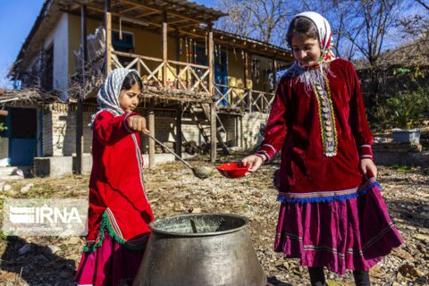 یلدای روستاهای «کوهمیان» و «محمدآباد»  گلستان