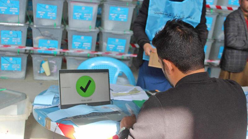 انتخابات افغانستان