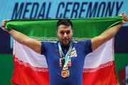وزنهبردار ارومیهای مدال برنز رقابت گزینشی المپیک را کسب کرد