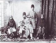 پوشش مردان و زنان طهرونی | لباس خوش تیپهای قجری