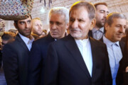 تصویر | دهمین نمایشگاه سراسری صنایعدستی با حضور معاون اول رئیسجمهوری در بوشهر