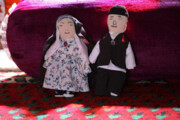 عاروسو؛ عروسک ۱۲۰ ساله کودکان شهربابک