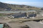 """سد """"قیز قلعه"""" استان بوشهر بهرهبرداری شد"""