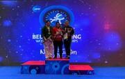 تیم ملی کشتی آلیش بانوان ایران قهرمان جهان شد