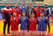 تیم مردان ایران نایبقهرمان کشتی آلیش جهان شد