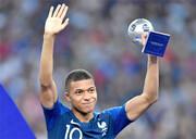 امباپه مرد سال فوتبال فرانسه شد