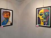 تصویر | نمایشگاه نقاشی «منشور» هستی