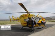 تولد یک نوزاد در بالگرد اورژانس