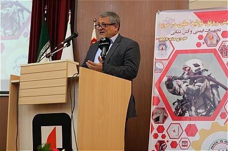 محسن هاشمی - همایش رونق تولید ملی در حوزه تجهیزات ایمنی