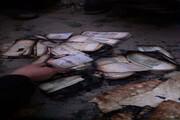 بخاری زغالی ۲۰۰ میلیون ریال پول را در اشنویه تبدیل به خاکستر کرد