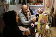 تصویر | مجادله رنگ و نقش در گالری امین افشار