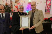 دیدار شهردار با اقلیتهای مذهبی در کلیسای «سن توما»