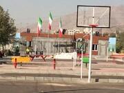 افتتاح نخستین دهکده ورزشی روباز در منطقه ۲۲