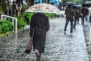 پیشبینی ۴ روز بارش پراکنده همراه با باد و برف