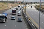 ترافیک در جاده چالوس و هراز  نیمه سنگین است