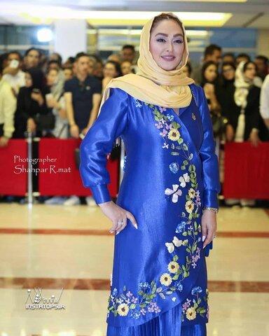 الهام حمیدی - لباس
