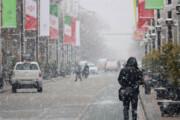 بارش برف مدارس بخش مرکزی خدابنده را تعطیل کرد