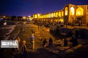 فراز و فرود گردشگری شب در شهرموزه اصفهان