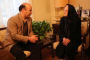 دیدار مسئولان در آستانه سال نو میلادی  با خانواده شهید طومانیان