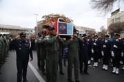 پیکر مطهر «شهید خلبان رحمانی» در تبریز تشییع شد
