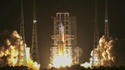فیلم | چین بزرگترین موشکش را دوباره به فضا میفرستد