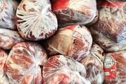 کشف ۲۴ تن گوشت منجمد قاچاق در فامنین