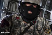 تصاویر مقابله با دزدان دریایی در رزمایش روسیه، چین و ایران