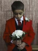 تصاویر | آوازخوانی خواننده عرب در مراسم دامادی کودک ۷ساله اهوازی