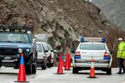 اعمال محدودیت ترافیکی در جاده چالوس