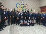 تجلیل از سهمیه های المپیک ۲۰۲۰