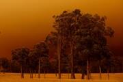 عکس روز: آسمان سرخ استرالیا