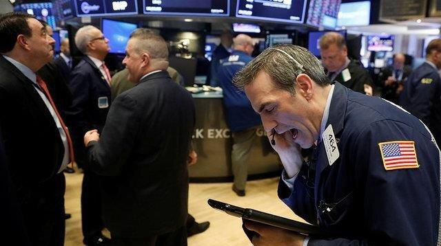 افت سهام وال استریت
