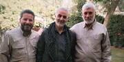 حمله هوایی آمریکا | شبلالزیدی از فرماندهان ارشد حشد الشعبی شهید شد | تصویر شبلالزیدی در کنار سردار سلیمانی