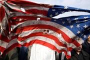 عکس روز | پرچم پاره آمریکا