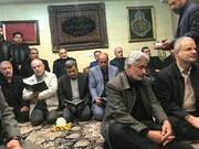 عکس | حضور احمدینژاد در منزل سردار شهید سلیمانی