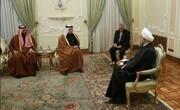 اظهارات مهم روحانی در دیدار با وزیر خارجه قطر درباره شهادت سردار سلیمانی