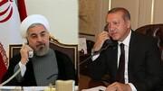 هشدار روحانی در تماس تلفنی با اردوغان در مورد تجاوز آمریکا | سخنان اردوغان درباره سردار سلیمانی