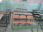 تخریب بخشهایی از سقف مدرسه شهید پورولی میناب بر سر دانشآموزان